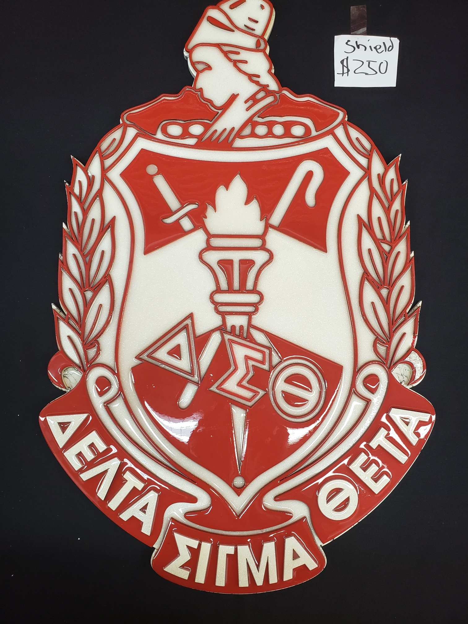 DST Wooden Shield