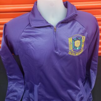 QPP 1/4 Zip Fleece Life Member