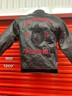 DST Motorcycle Leather Jacket