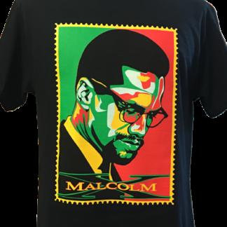 Malcom X Stamp T-Shirt